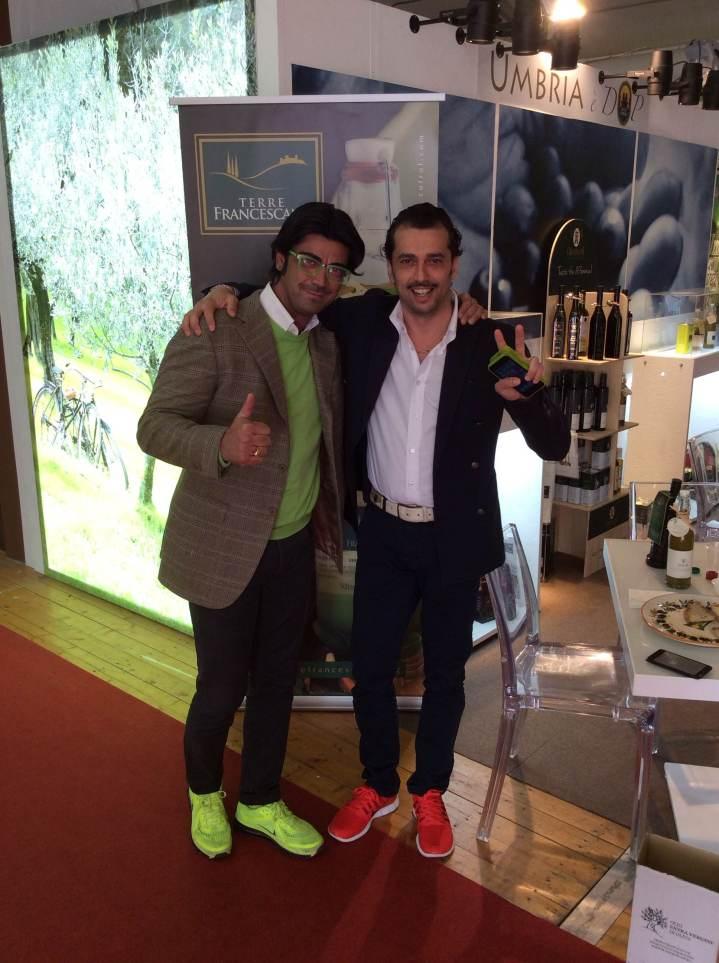 I partecipanti di Masterchef Almo Bibolotti, finalista, e Salvatore Russo.